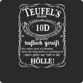 A25 U2013 Teufelu0027s Klasse U2013 Teufelisch Gereift. Abschluss Logo